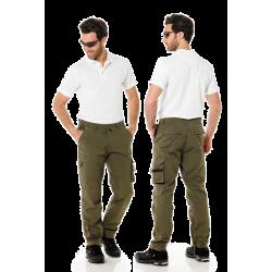 Pantalone Raptor grigio e verde 8028
