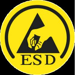CERTIFICAZIONE ESD - LOGO