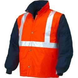 Interno dalla giacca AV - con maniche staccabili