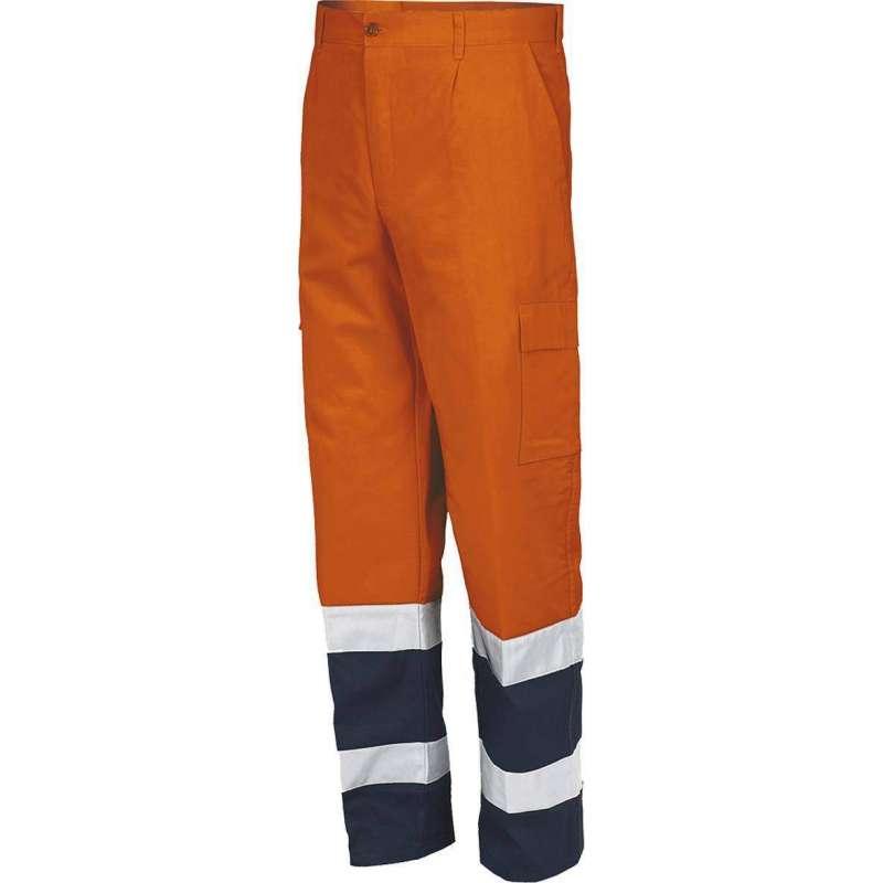 Pantalone Av Bicolore En Iso 20471:2013 Cl.2