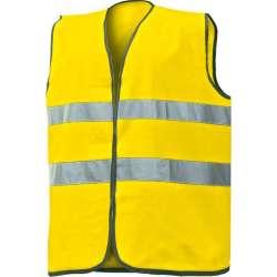 Gilet alta visibilità giallo