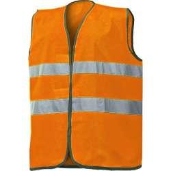 Gilet alta visibilità arancione