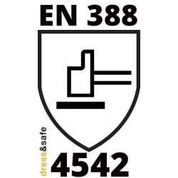 Certificazione EN 388 4-5-4-2