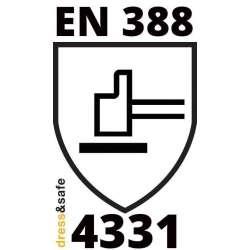 Certificazione EN388 4-3-3-1