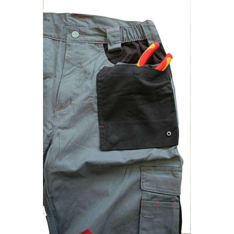 Pantalone Stretch Invernale da Lavoro 8730w Issa Line