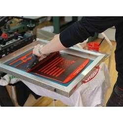 Stampa serigrafica ad 1 colore